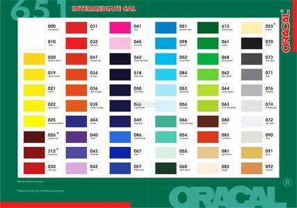 Oracal 651 A4
