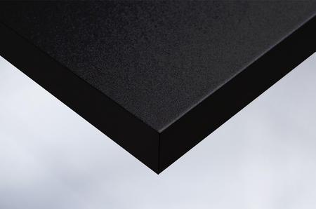 K1 mat black velvet grain